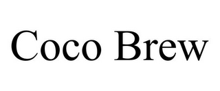 mark for COCO BREW, trademark #85778129