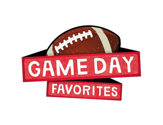 mark for GAME DAY FAVORITES, trademark #85778150