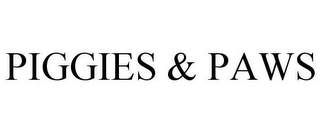 mark for PIGGIES & PAWS, trademark #85778157