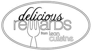 mark for DELICIOUS REWARDS FROM LEAN CUISINE, trademark #85778363