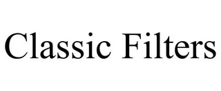 mark for CLASSIC FILTERS, trademark #85778651