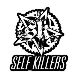 mark for SK SELF KILLERS, trademark #85778765