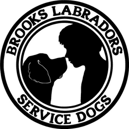 mark for BROOKS LABRADORS SERVICE DOGS, trademark #85779013
