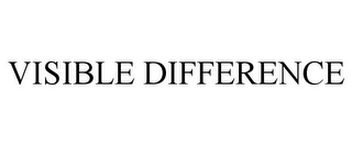 mark for VISIBLE DIFFERENCE, trademark #85779085