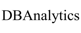 mark for DBANALYTICS, trademark #85779138