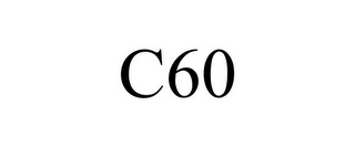 mark for C60, trademark #85779381