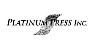 mark for PLATINUM PRESS INC., trademark #85779552