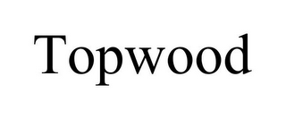 mark for TOPWOOD, trademark #85779749