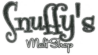 mark for SNUFFY'S MALT SHOP, trademark #85779755