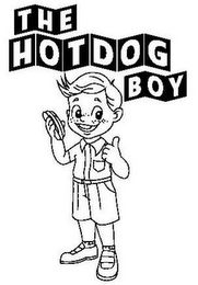 mark for THE HOTDOG BOY, trademark #85779801