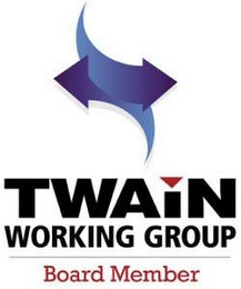 mark for TWAIN WORKING GROUP BOARD MEMBER, trademark #85780058