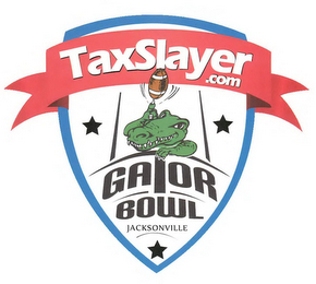 mark for TAXSLAYER.COM GATOR BOWL JACKSONVILLE, trademark #85780203