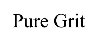 mark for PURE GRIT, trademark #85780318