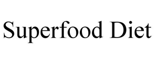 mark for SUPERFOOD DIET, trademark #85780379