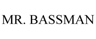 mark for MR. BASSMAN, trademark #85781142