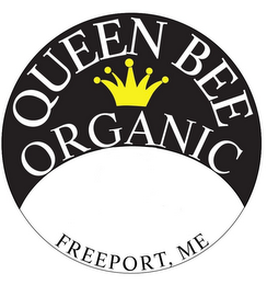 mark for QUEEN BEE ORGANIC FREEPORT, ME, trademark #85781193