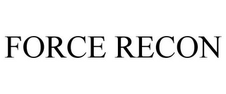 mark for FORCE RECON, trademark #85781322