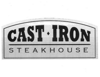 mark for CAST IRON STEAKHOUSE, trademark #85781646