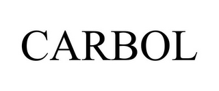 mark for CARBOL, trademark #85781682