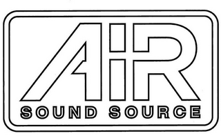 mark for AIR SOUND SOURCE, trademark #85781719
