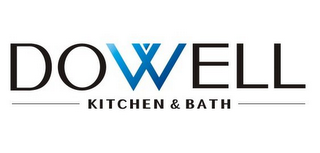 mark for DOWELL KITCHEN & BATH, trademark #85782249
