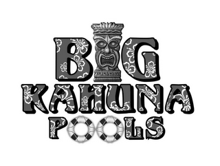 mark for BIG KAHUNA POOLS, trademark #85782423