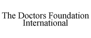 mark for THE DOCTORS FOUNDATION INTERNATIONAL, trademark #85783282