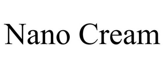 mark for NANO CREAM, trademark #85783304