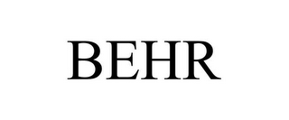 mark for BEHR, trademark #85783332