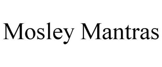 mark for MOSLEY MANTRAS, trademark #85783463