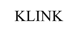mark for KLINK, trademark #85783642