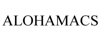 mark for ALOHAMACS, trademark #85784095