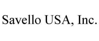mark for SAVELLO USA, INC., trademark #85784205
