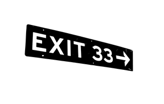 mark for EXIT 33, trademark #85784337