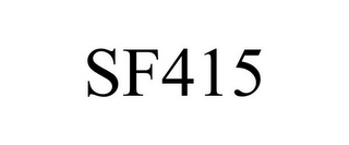 mark for SF415, trademark #85784679