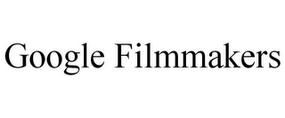 mark for GOOGLE FILMMAKERS, trademark #85784758