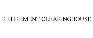 mark for RETIREMENT CLEARINGHOUSE, trademark #85785122