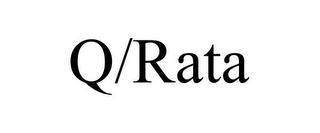 mark for Q/RATA, trademark #85785128