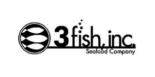 mark for 3FISH, INC. SEAFOOD COMPANY, trademark #85785134