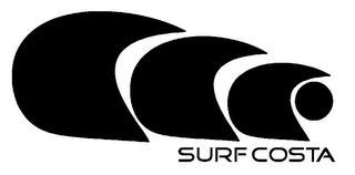 mark for SURF COSTA, trademark #85785172
