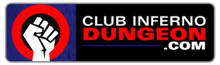 mark for CLUB INFERNO DUNGEON .COM, trademark #85785421