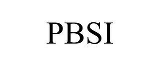mark for PBSI, trademark #85785499
