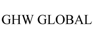 mark for GHW GLOBAL, trademark #85785539