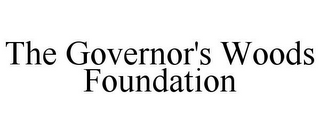 mark for THE GOVERNOR'S WOODS FOUNDATION, trademark #85785643