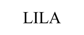 mark for LILA, trademark #85785664