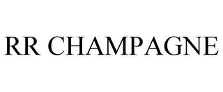mark for RR CHAMPAGNE, trademark #85785736