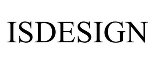 mark for ISDESIGN, trademark #85786075