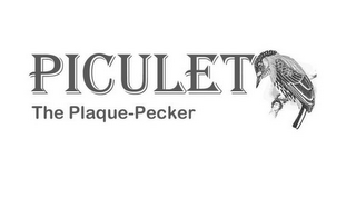 mark for PICULET THE PLAQUE-PECKER, trademark #85786116