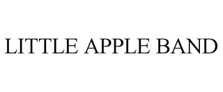 mark for LITTLE APPLE BAND, trademark #85786277
