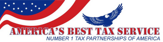 mark for AMERICAS BEST TAX SERVICE NUMBER 1 TAX PARTNERSHIPS OF AMERICA, trademark #85786358